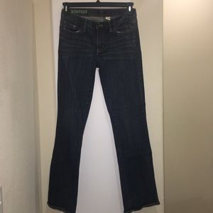 29 Regular J. Crew Bootcut Blue Jeans